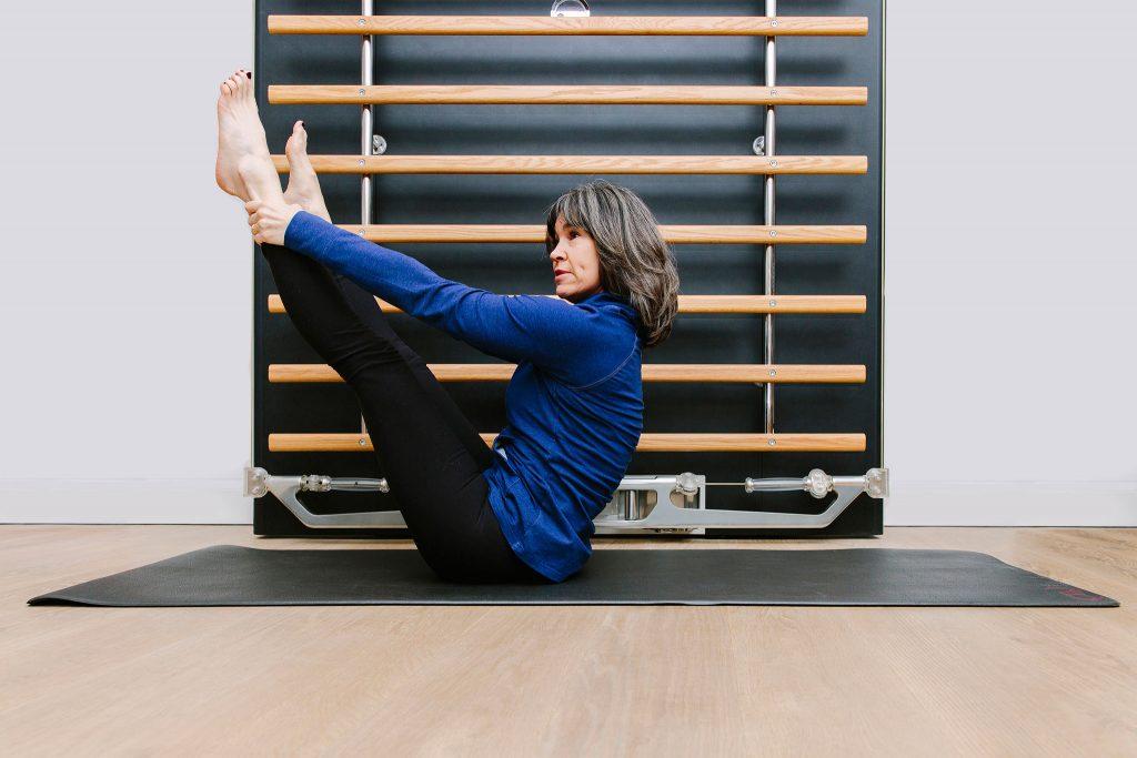 Pilates Mat Class Training