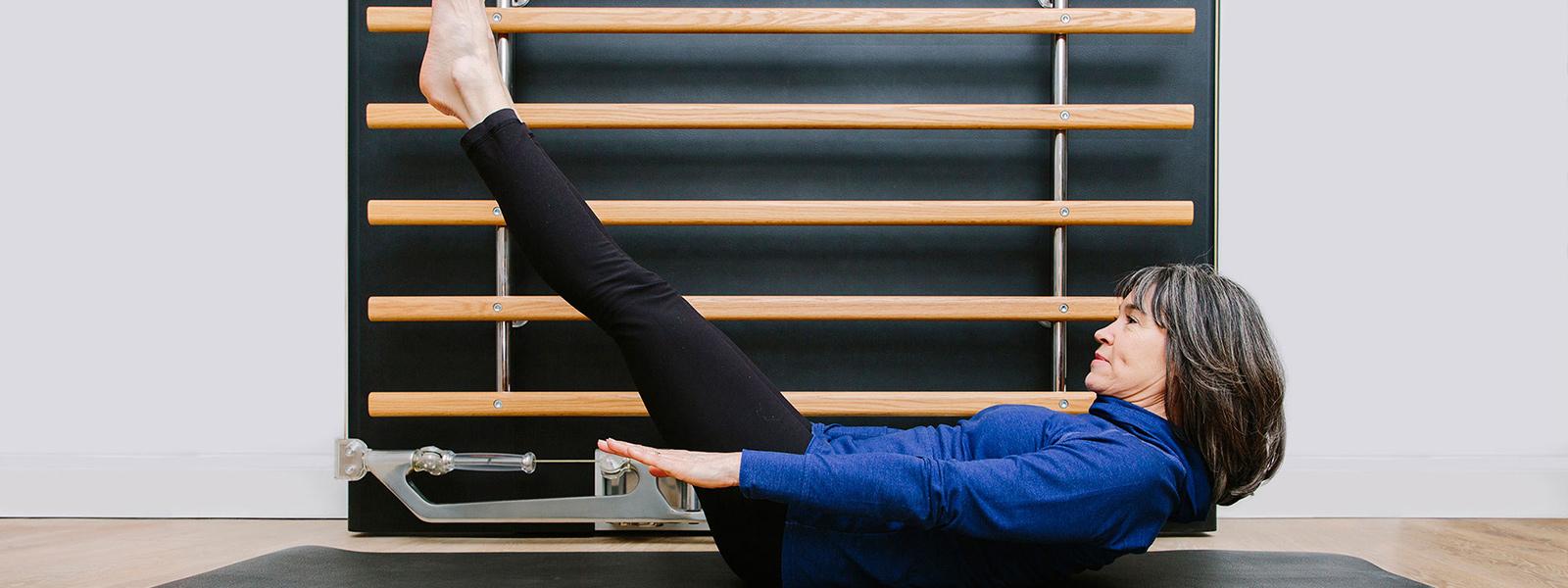 Pilates Mat Classes Banner